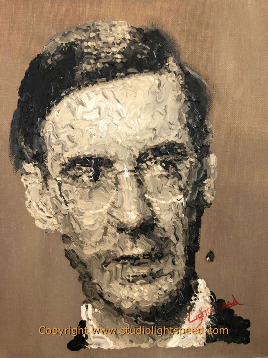Royal Academy Summer Exhibition 2018. Jacob Rees-Mogg